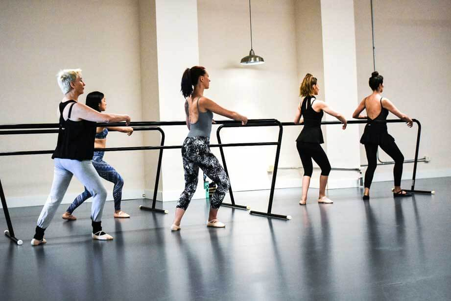 Adult Ballet Class at The Dance Hub