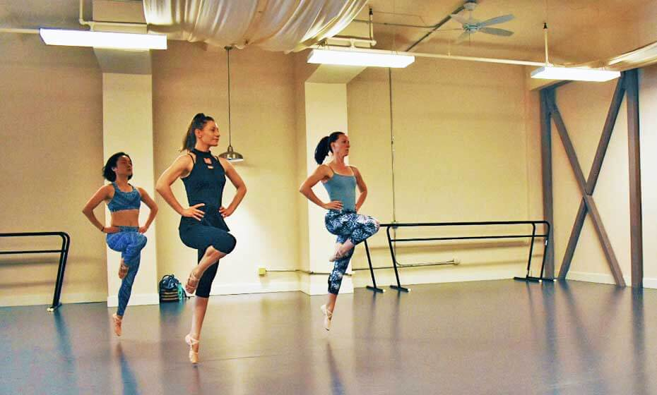 Adult Dance Classes at The Dance Hub: Beginning Ballet